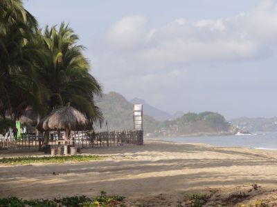 San Pancho's Beach on the Nayarit Riviera