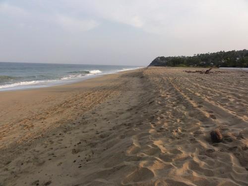 Early November Morning on the San Pancho, Nayarit, Beach