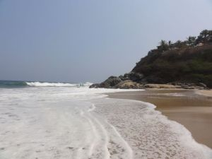 The north beach at San Francisco, Nayarit, Mexico