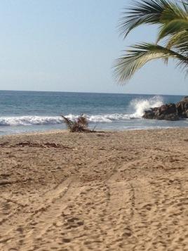 The North Beach at San Pancho, Mexico